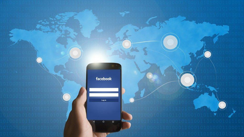 smartphone, facebook, mobile phone